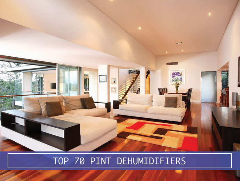 70 pint dehumidifier for large rooms