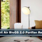 Rabbit Air BioGS 2.0 HEPA Air Purifier In Living Room