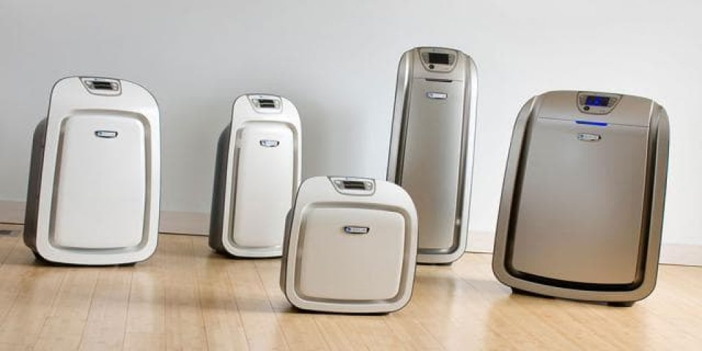different sizes of air purifiers