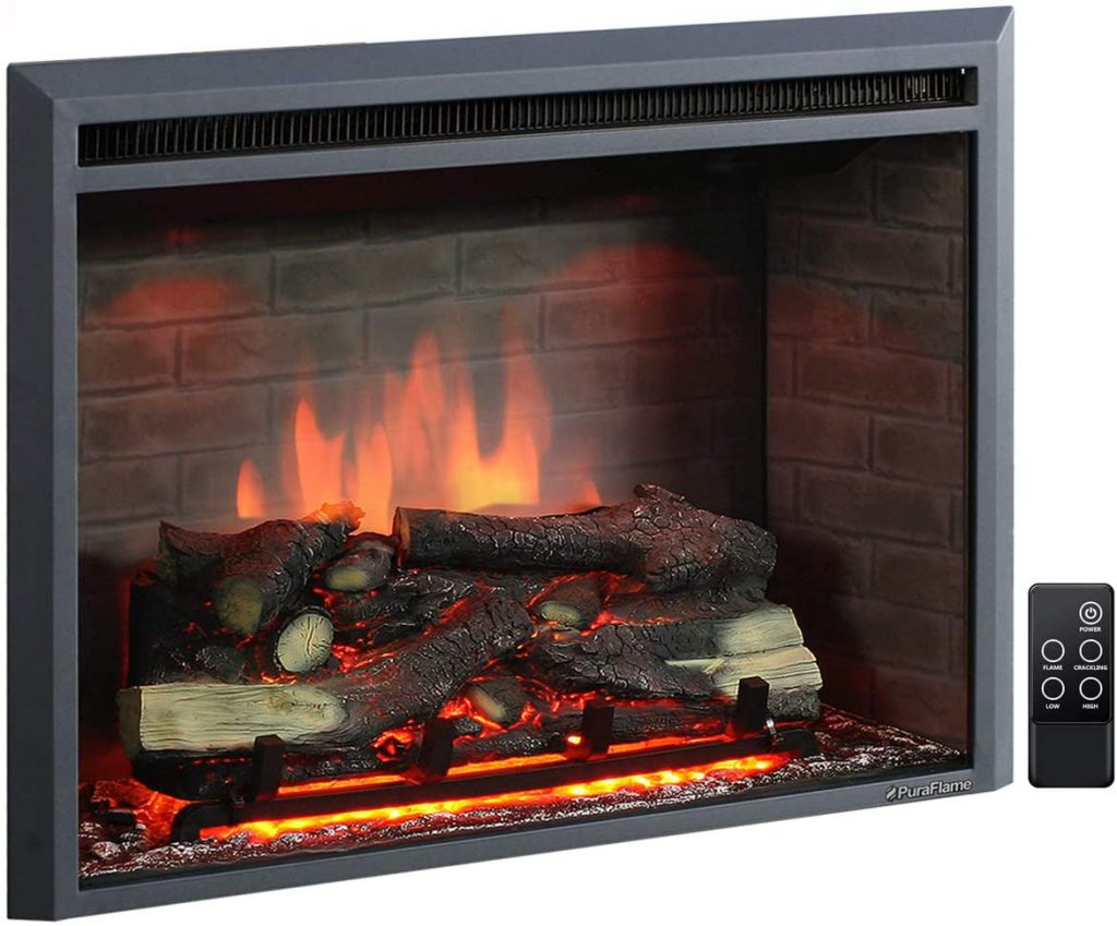best electric fireplace puraflame western